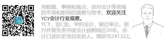 尹成彦 YCY会计行业观察